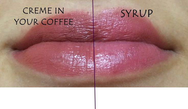 Mac mid tone nudes Cream in your coffee vs. Syrup