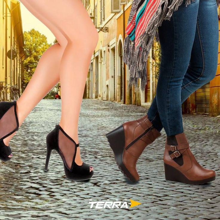 Estos son los principales estilos para la temporada otoño-invierno #bellash ¡Encuéntralos en nuestros catálogos y viste a la moda con Mundo Terra! http://www.bellash.com/collections/catalogos-terra-venta-de-zapatos-y-ropa-por-catalogo