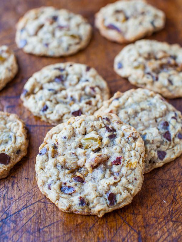 Slice-and-Bake Oatmeal Raisin Chocolate Chip Cookies ...