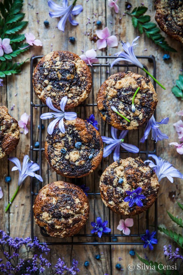 Blueberry Swirl Muffins | la gelida anolina
