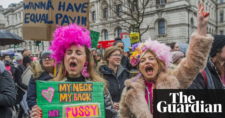 The best signs from the Women's March in London – in pictures | UK news | The Guardian