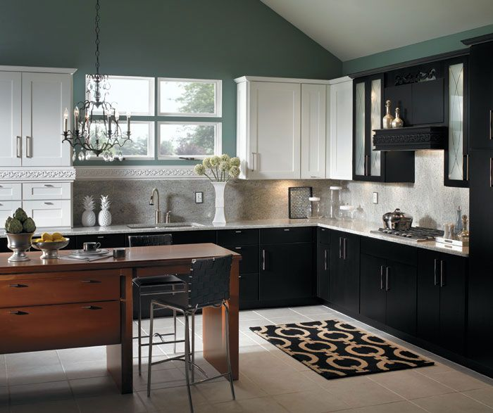 Color Schemes For White Kitchen Cabinets: 30 Best Images About Schrock Kitchens On Pinterest