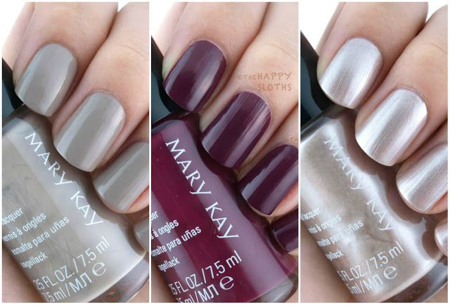 Mary Kay Fall 2015 City Modern Collection Nail Lacquers: Review and Swatches from thehappysloths.com