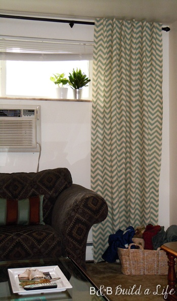 Chevron Curtainsall Curtains Should Be Floor Length