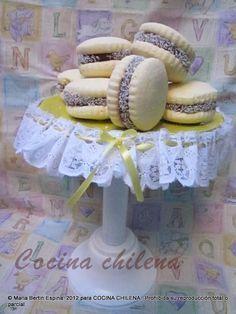.COCINA CHILENA: ALFAJORES MAICENA sin GLUTEN
