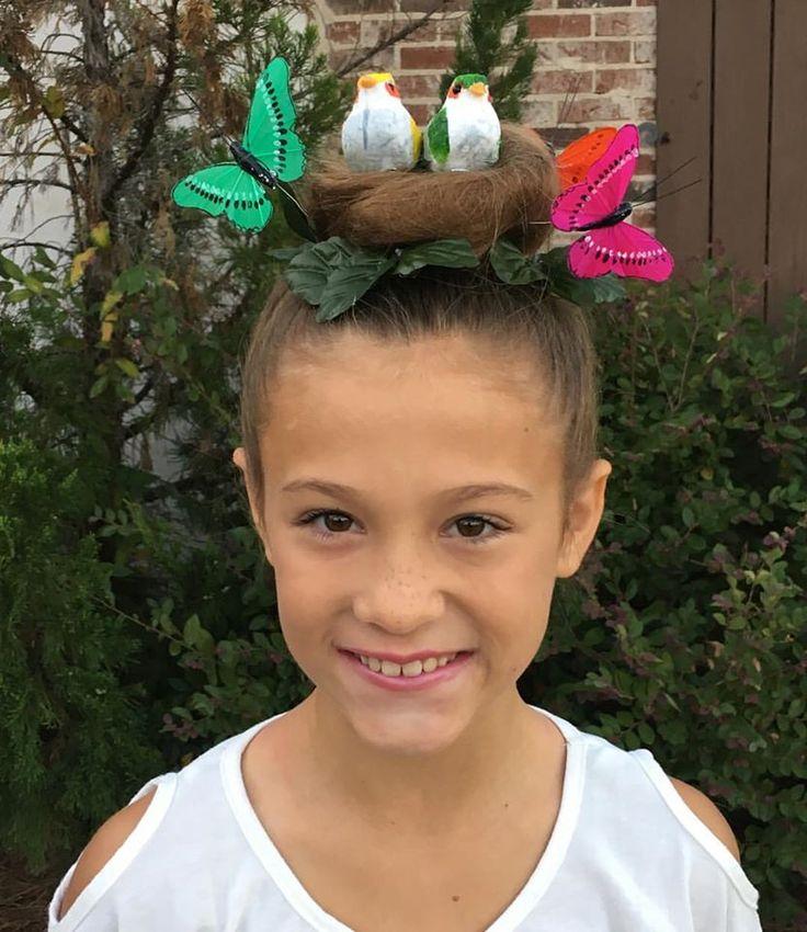 Birds nest for crazy hair day Kids Ideas Pinterest Inspiration ...