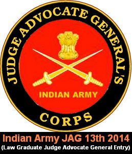 Logo of Indian army JAG (Judge Advocate General). More at http://cdsexam.com/indian-army-jag-13th-entry-2014-notification/