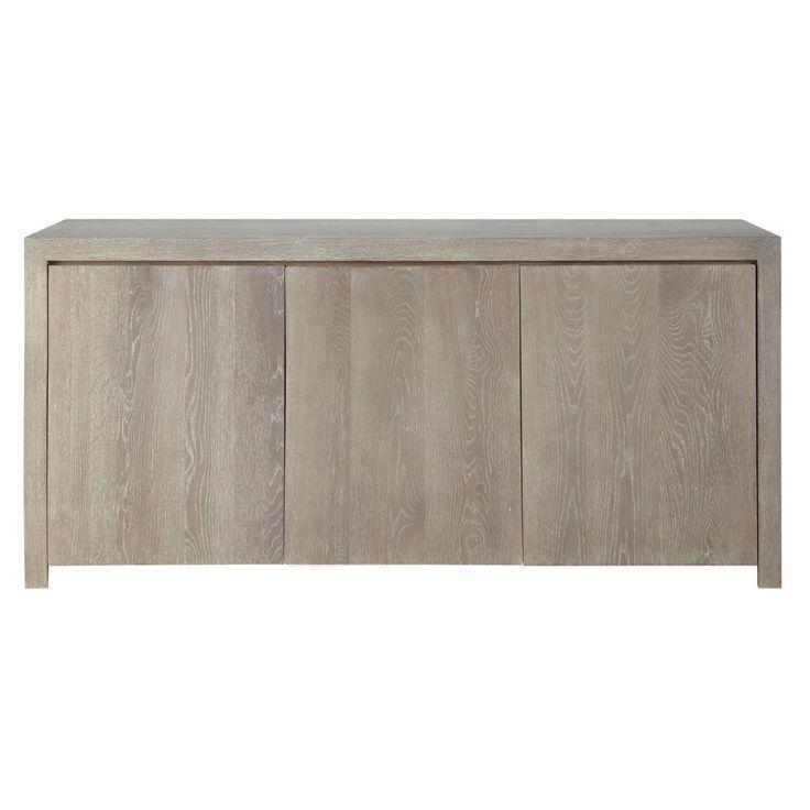 Solid oak sideboard W 160cm - Baltic