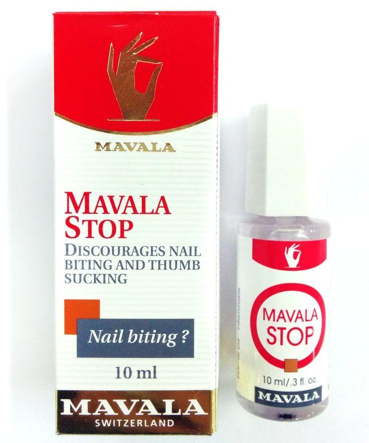 Mavala Stop Discourages Nail Biting and Thumb