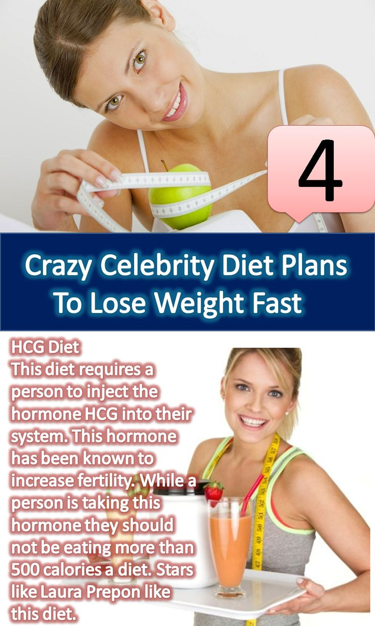 Weird Celebrity Skinny Secrets - Celebrity Diet Tips