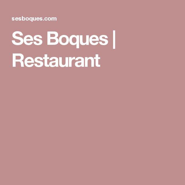 Ses Boques | Restaurant