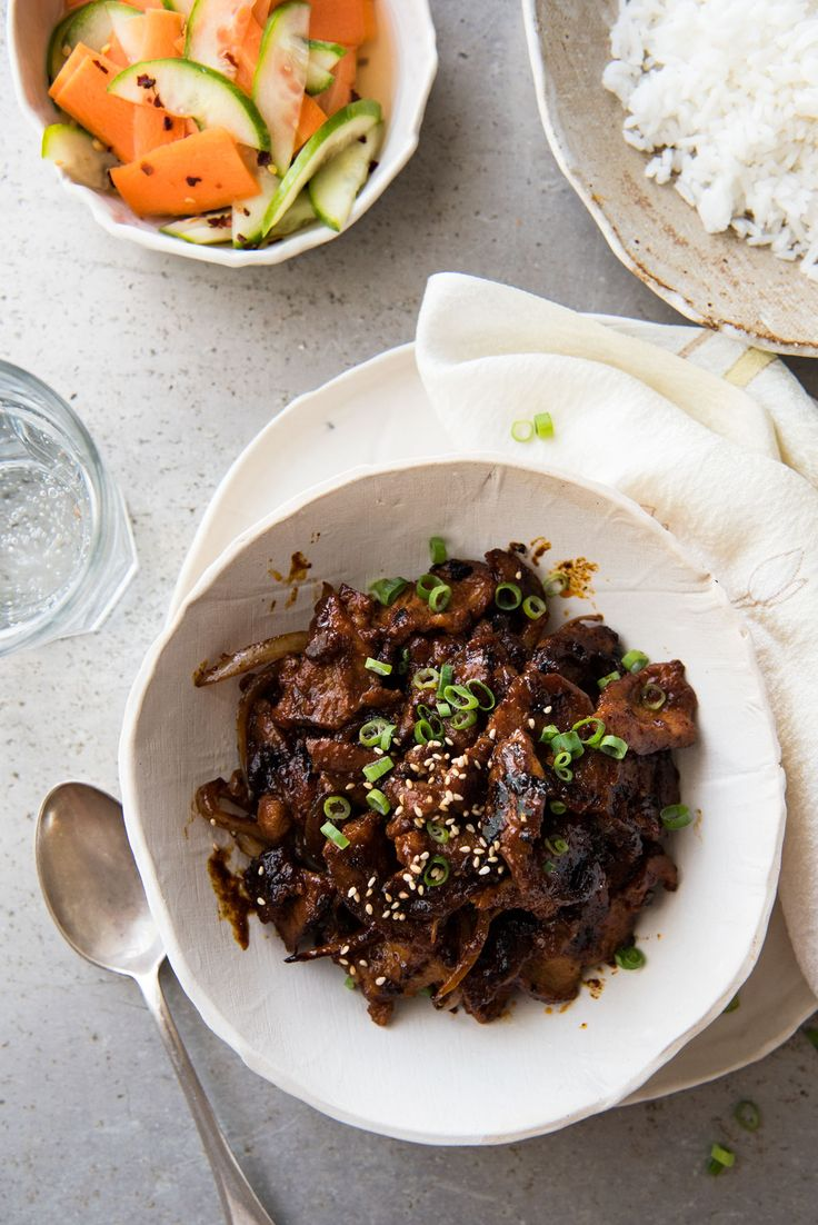 Love how fast this is for a midweek meal! BIG flavours, spicy, sticky and sweet - AWESOME!