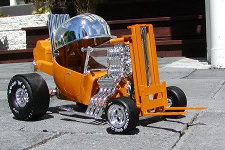 Hot Rod now that's my kind of forklift!!   places   Cars ...