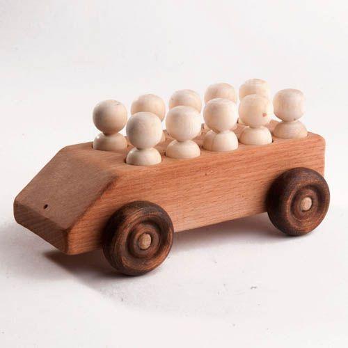 Машинка с 10 пассажирами (Леснушки)