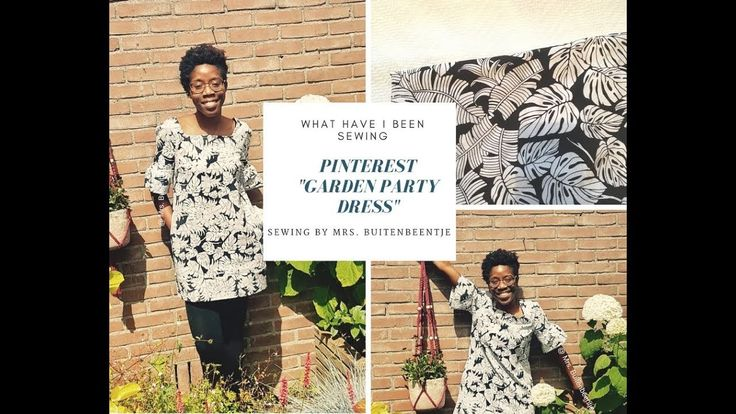 """What have I been sewing: Pinterest """"Garden Party Dress"""""""