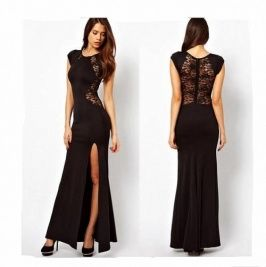 Cheap dress white dress, Buy Quality dresses paris directly from China dress  up dress Suppliers: Women XXXXL Plus size Black Lace Evening party Long  spring ...
