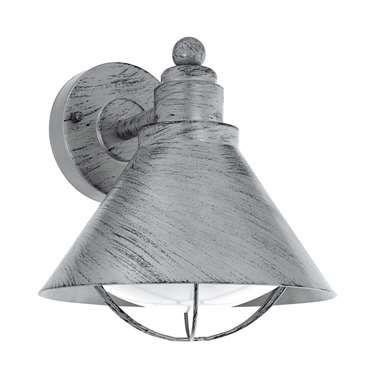 EGLO wandlamp Barrosela - antiek zilver
