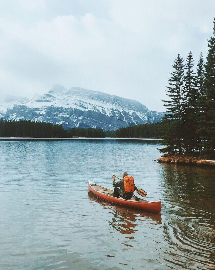 Banff, Alberta Canada. kayaking adventure Kayaking