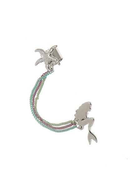 Disney The Little Mermaid Cuff Earring | I would absolutely wear this.