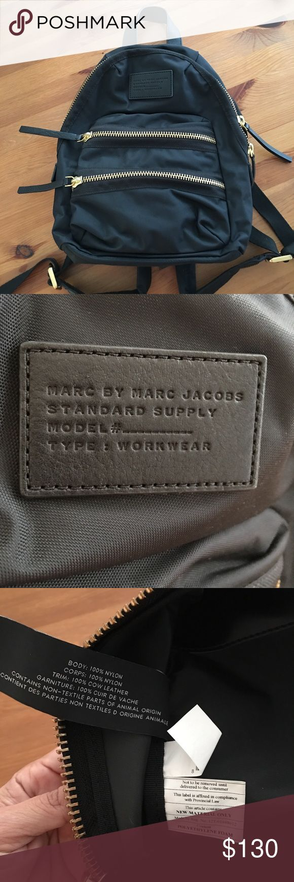 "Marc by Marc Jacobs Domo Arigato Mini Backpack Authentic Marc by Marc Jacobs Domo Arigato Mini Packrat Canvas Backpack. In great condition! Only used twice.   - Canvas and leather - Chunky zipper fastening - 2x zipper pockets - H: 12.25"", W: 10"", D: 4"" Marc By Marc Jacobs Bags Backpacks"