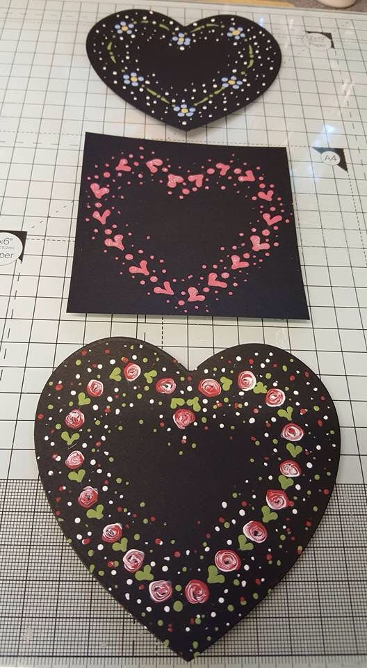 Tricia has really enjoying practicing the dotty designs from our Starter kit available from www.folkit.co