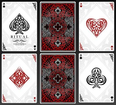 Ritual Luxury Playing Cards by US Playing Cards : マジック ...