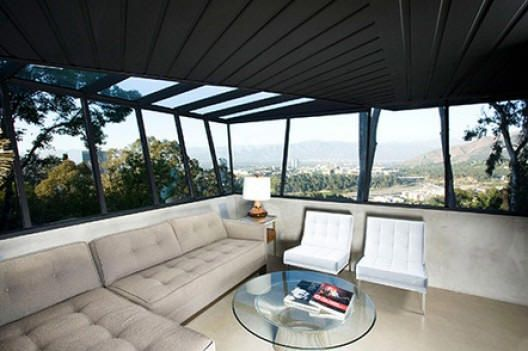 How cool is this room and view?