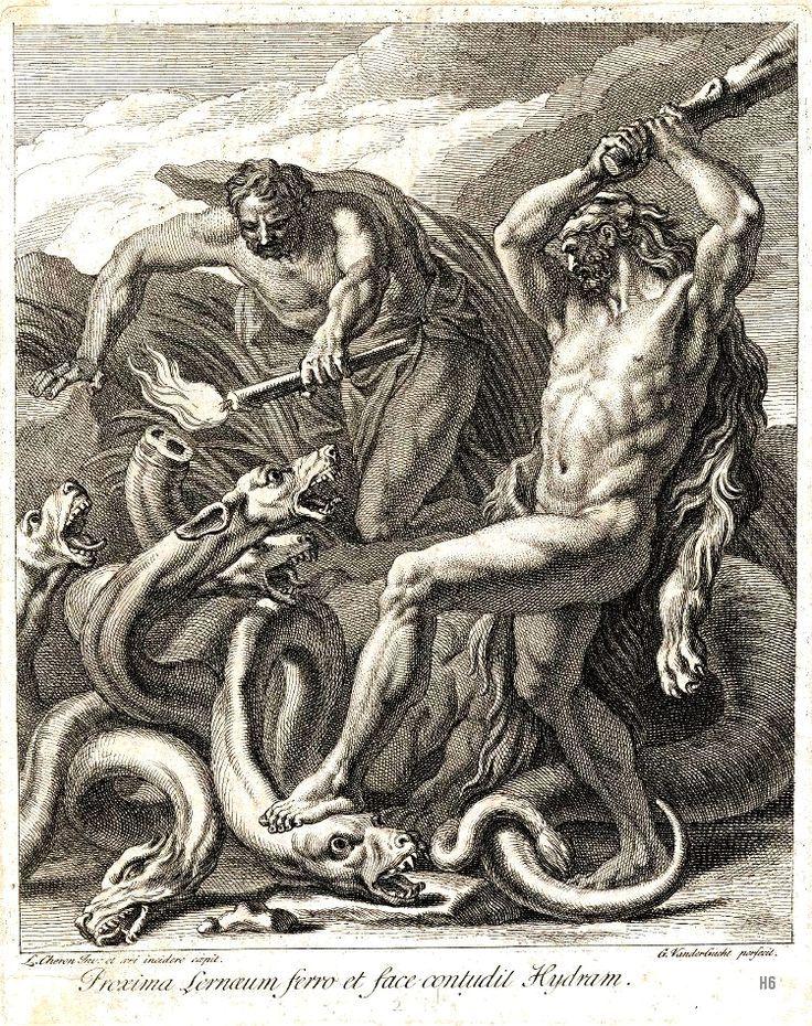 La Hidra... Su guarida estaba en los pantanos de Lerna
