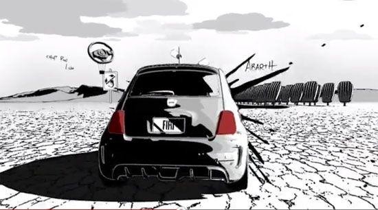 SEMA Las Vegas 2012: Der Fiat 500 im Duell mit dem Comic Skorpion - Speed-Magazin
