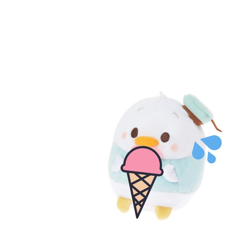 Donald ufufy, will you share some of your ice cream?