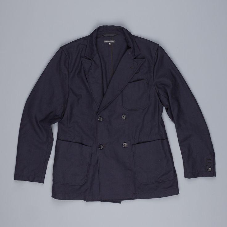 Engineered Garments dexter jacket in uniform serge