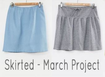 Now that Skirted- Our March project is all wrapped up, how about a few favorite skirt tutorials to keep the closet packed with variety.