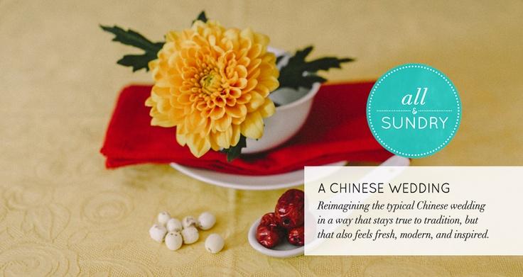 Chinese Wedding Ideas | http://allandsundry.ca | Photo by @Tomasz Wagner