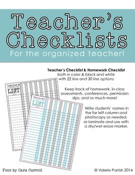 Checklists   Getting Started Professional Templates   Forms Downloads Free   Happy Holidays Late Homework Coupon   Writer s Checklist