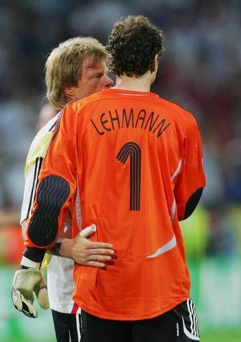 Pic!Spam Jens Lehmann/Oliver Kahn - Summer 2010 is going to be slashy!