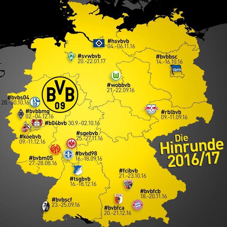 Season 2016/17 games BVB