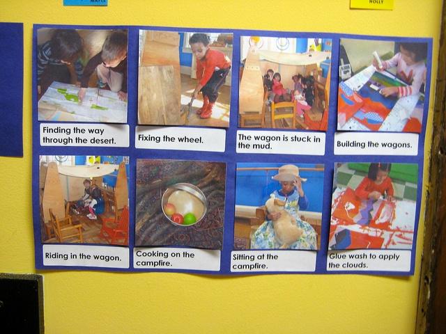 Child-friendly documentation by Takoma Park Cooperative Nursery School, via Flickr