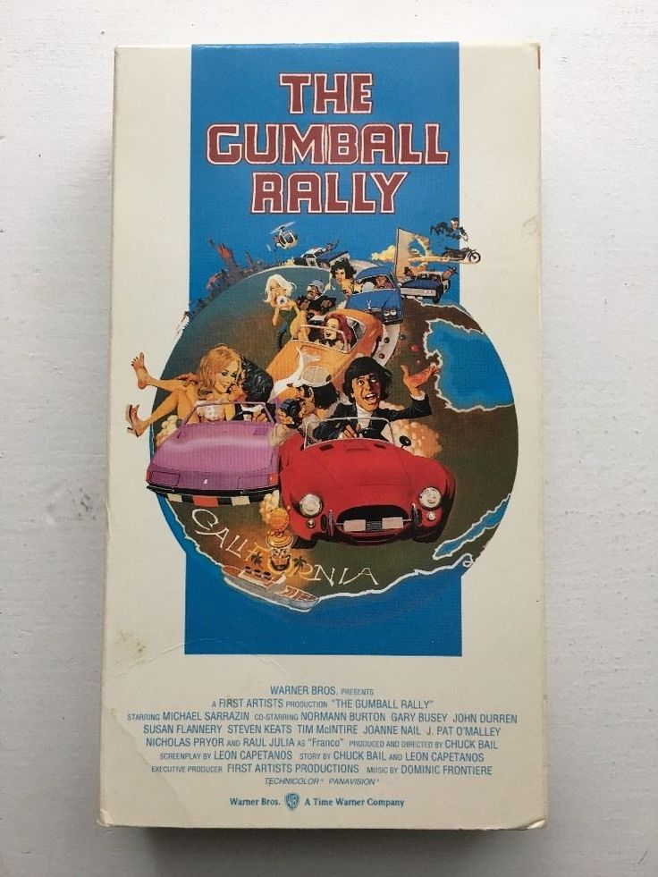 The Gumball Rally (VHS, 1996) Michael Sarrazin