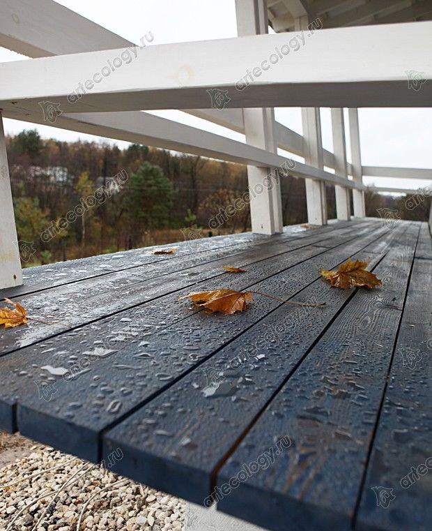 Мини-дом Кораблик, открытая терраса - Mini House Ship, open terrace
