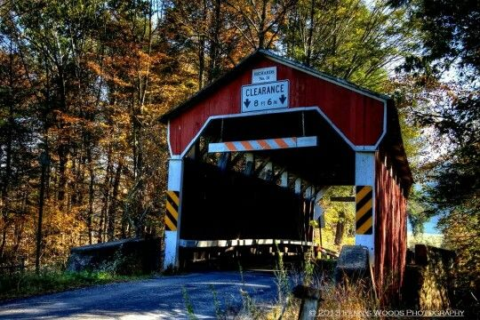 Richards Covered bridge, Columbia County, Pennsylvania