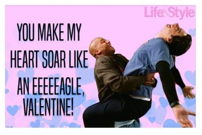 If you have to send a love-filled Valentine's Day Card to your bestie this year, take some inspo from 'Scrubs' Turk and JD!