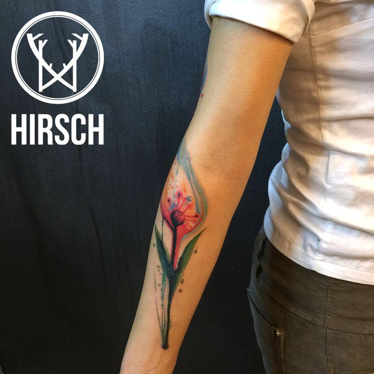 #tattoo #watercolortattoo #sumi