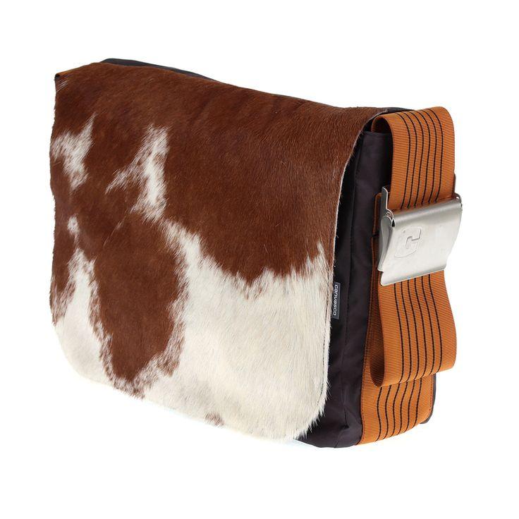 muuuuuuuuuuuuuuuuu Unikatowa torba wykonana z żagla, pokrywa wykonana z oryginalnej krowiej skóry. 839PLN