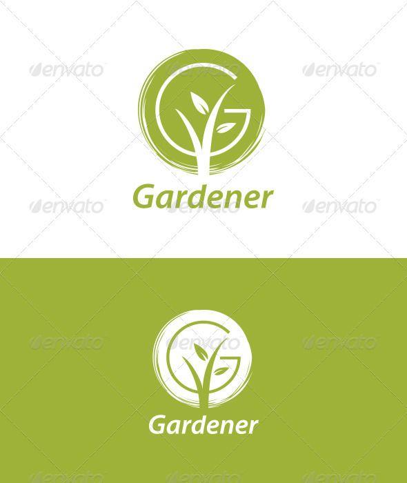 Logo inspiration for florists and gardeners. Gardener - Nature Logo Templates
