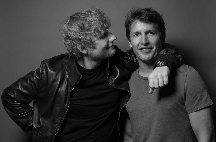 Ed Sheeran and James Blunt photographed by Mark Surridge (2017) http://www.mark-surridge.com/