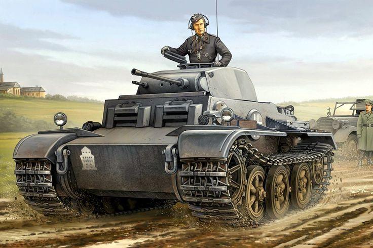 1942 Panzer II Ausf. J Vincent Wai