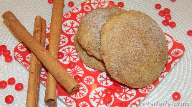 Large Cinnamon Snicker Doodle Cookies