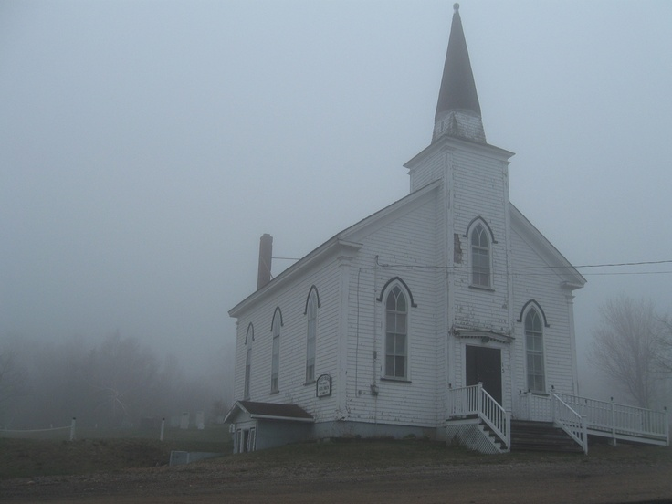 United Church of Canada, Cape North. Cape Breton Island, 2008.