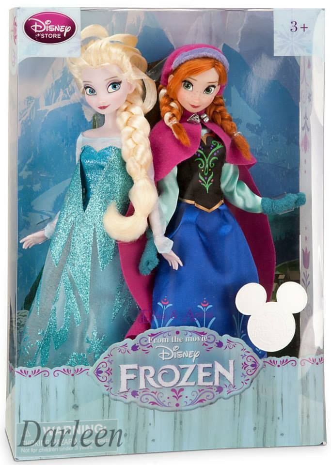 disney frozen | Disney Frozen's Elsa and Anna dolls | My Dolls :: A Blog About Barbie ...