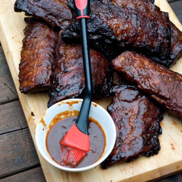 Good for Slathering: Pork; beef; duck; ribs My students make this barbecue sauce every month in my Southern-barbecue classes. It is the only red sauce that we make in the class, and we always double the recipe because the class slathers it on everything! This sauce has been printed in many places and thousands of students have the recipe, but I couldn't write a sauce chapter and not include it here. The Dr. Pepper gives this sauce an edge over most basic sweet barbecue sauce...